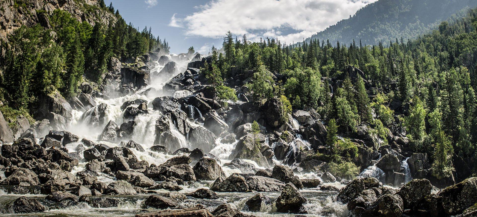 Алтай. Водопад Учар - Чульчинский