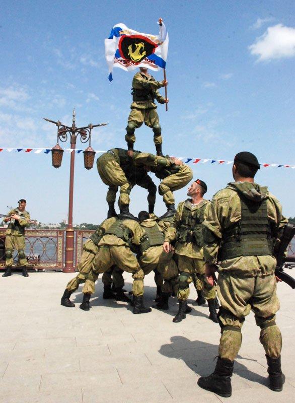 Астрахань. День Военно-Морского флота России
