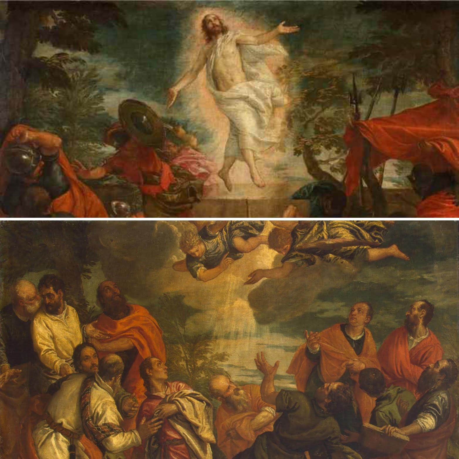 Воскрешение Христа Веронезе и Апостолы Эрмитажа
