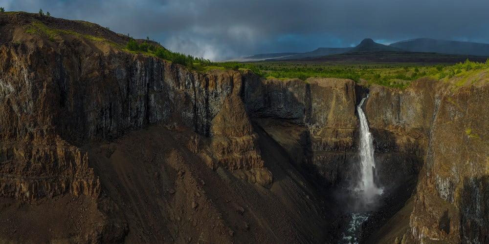 Плато Путорана. Водопады в коньоне реки Канда. Автор фото: Сергей Горшков