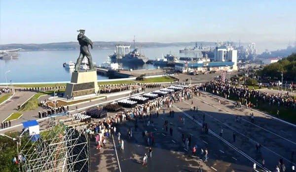 Североморск. День Военно-Морского флота России