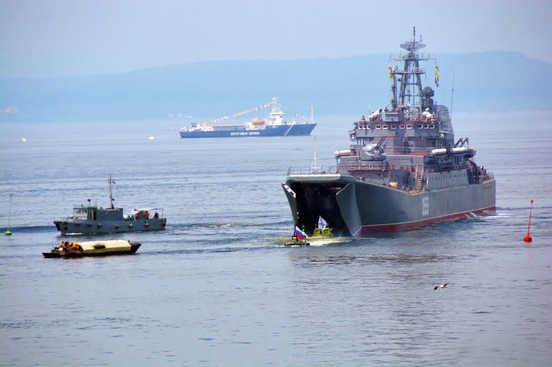 Владивосток. День Военно-Морского флота России