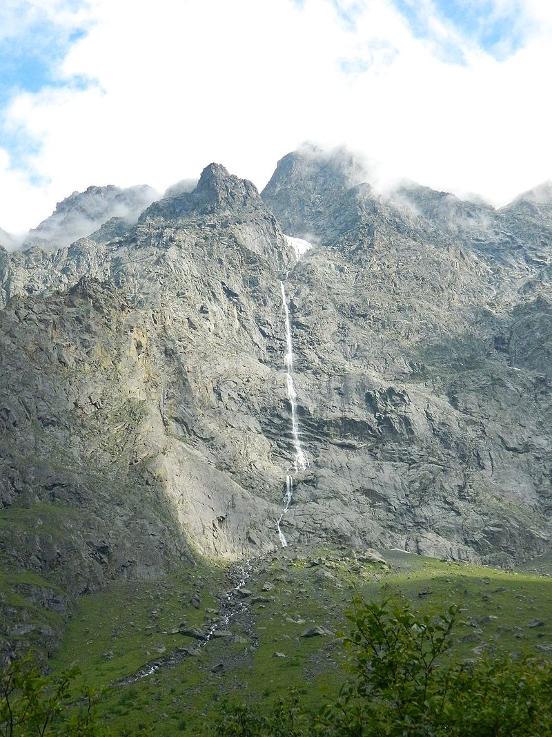 Зейгалан водопад_Северная Осетия