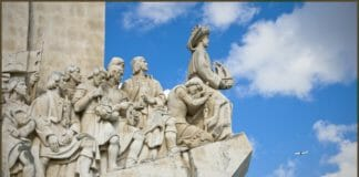 Португалия памятник первооткрывателям