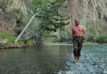 Путин. Рыбалка