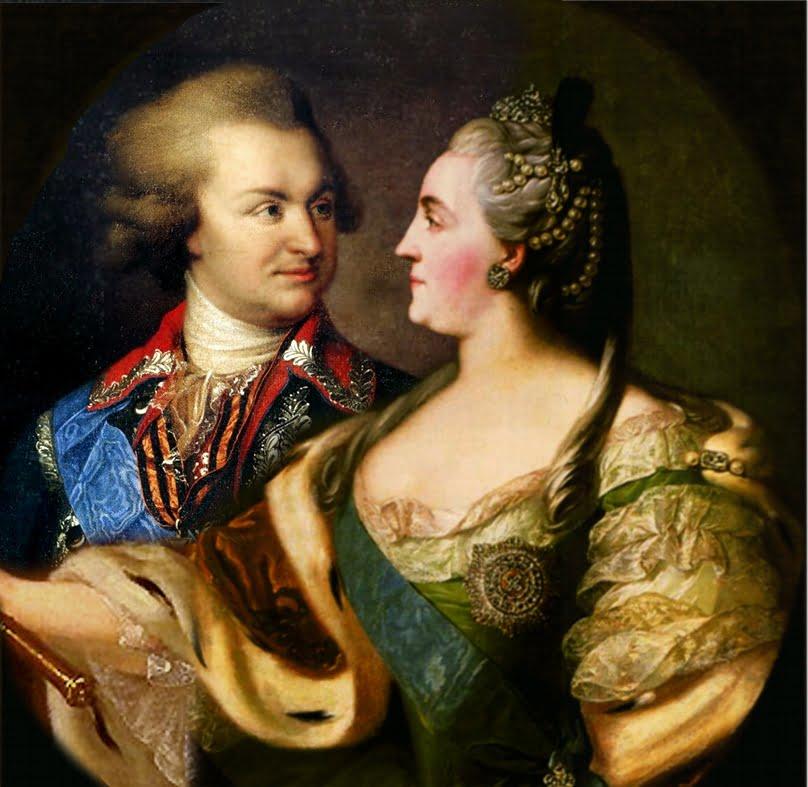 Потемкин и Екатерина Вторая