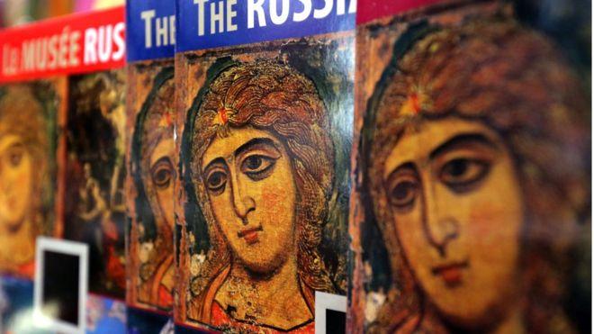"""Икона """"Ангел златые власы - """"лицо"""" Русского музея в Санкт-Петербурге"""