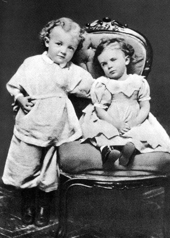 Фотография маленького Ленина. Ему три года
