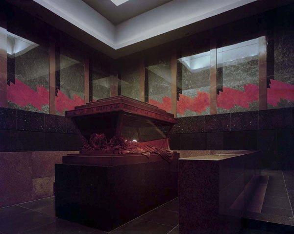 интерьер мавзолея Ленина