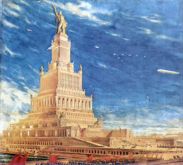 Дворец Советов архитектора Бориса Иофана