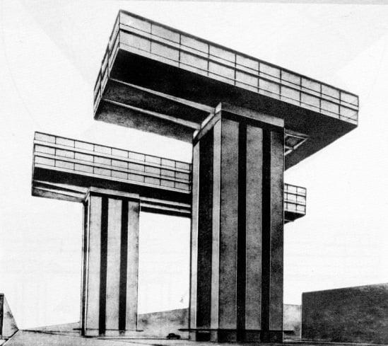 Горизонтальные небоскребы Эля Лисицкого