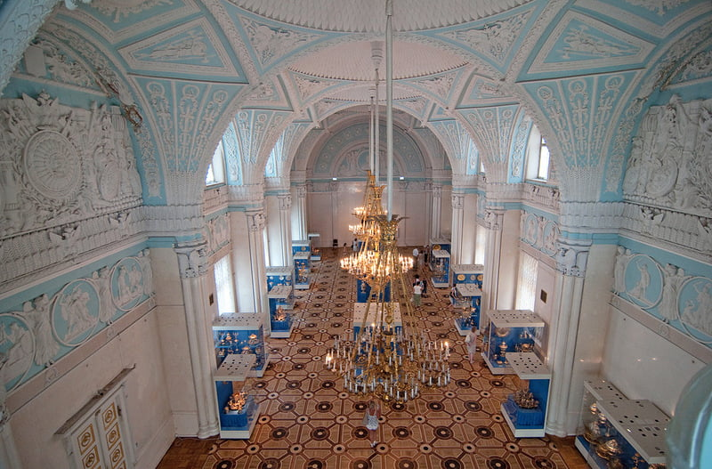 Александровский зал Эрмитажа