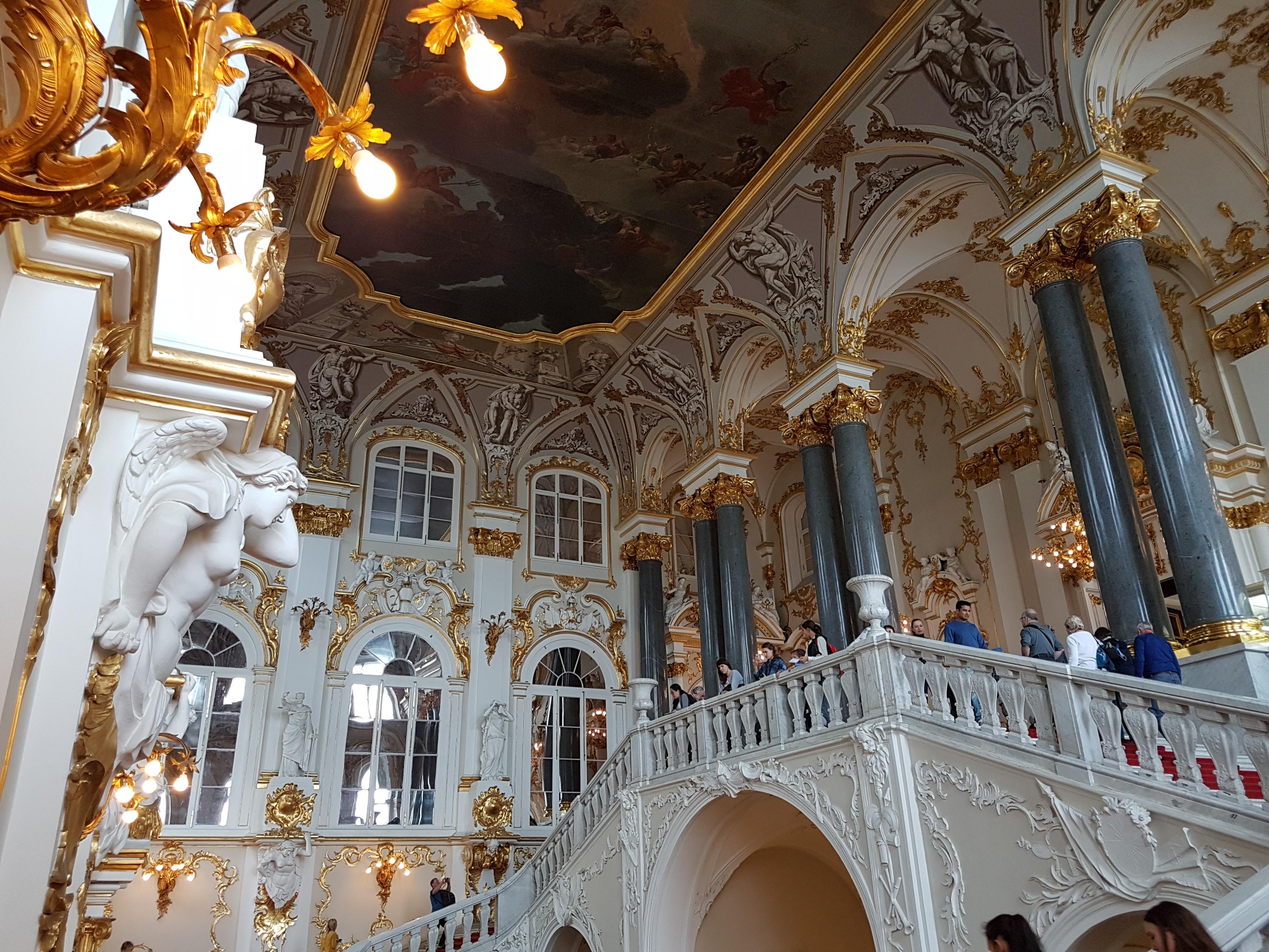 Иорданская лестница Эрмитаж Санкт-Петербург