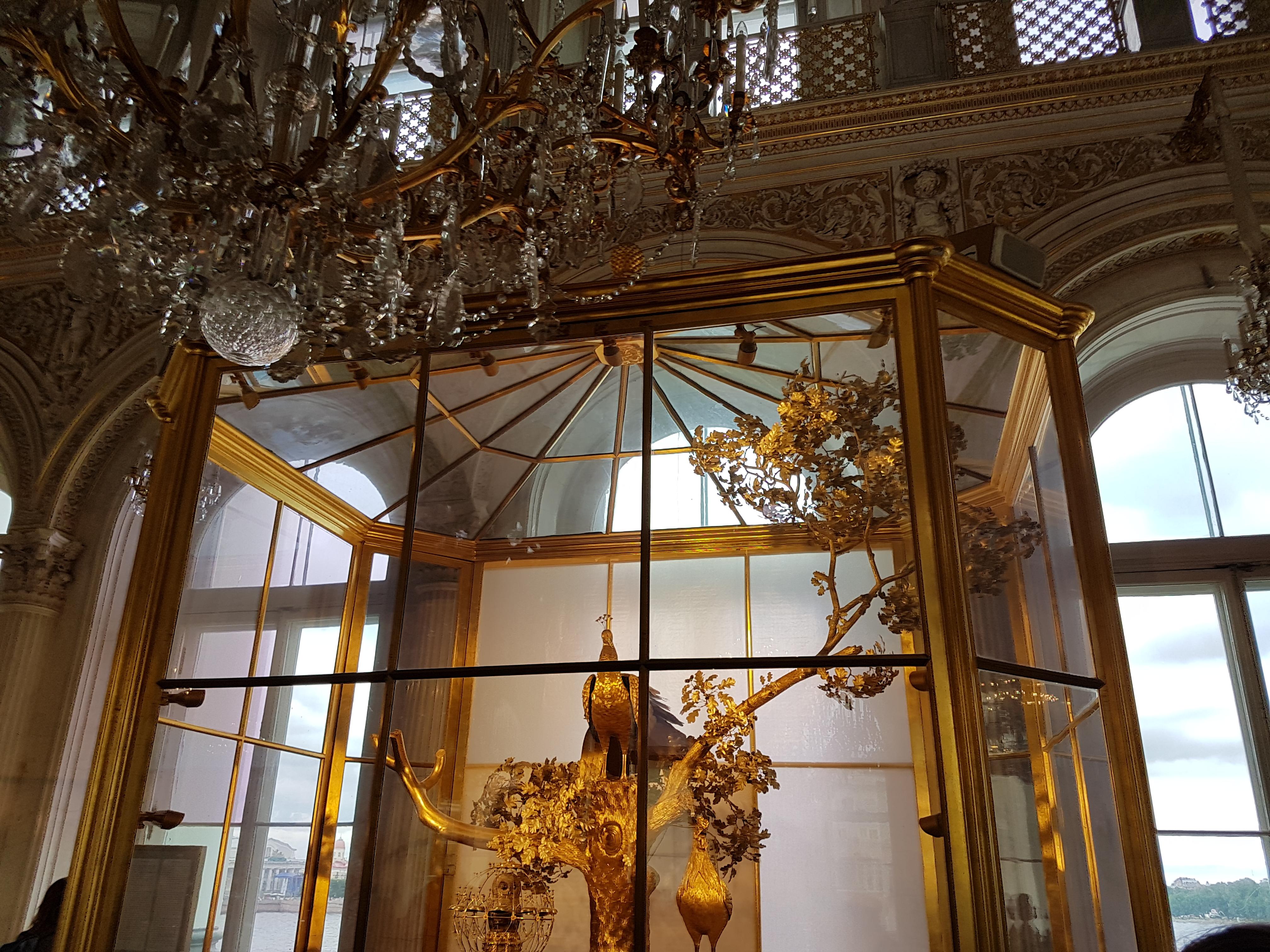 """Павильонный зал и часы """"Павлин"""" Эрмитажа"""