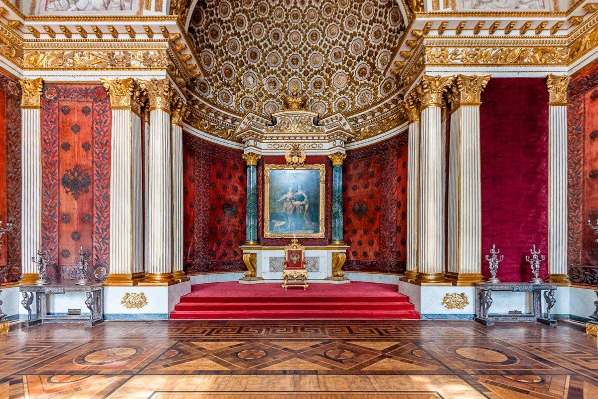 Малый тронный зал (Петровский) Эрмитажа