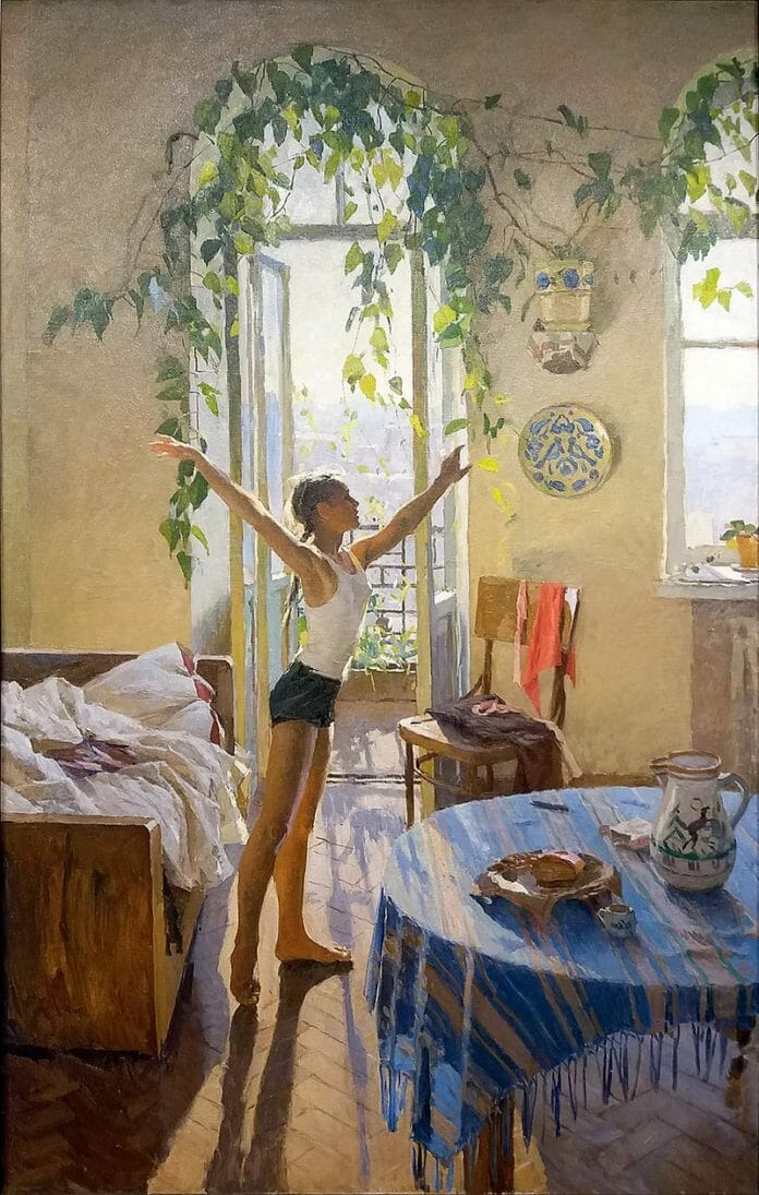 Утро_картина_Татьяны_Яблонской