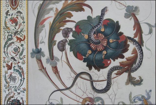 Лоджии Рафаэля. Фрагмент росписи