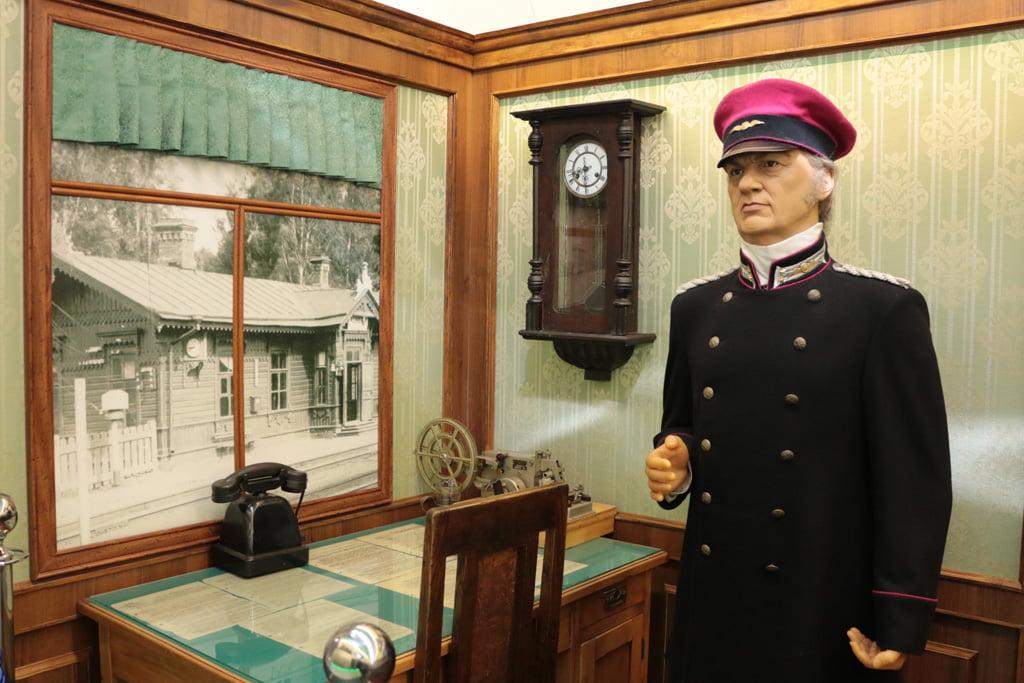 Форма сотрудников железных дорог в XIX веке