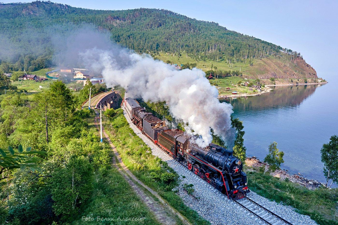 Кругобайкальская железная дорога. Современный вид