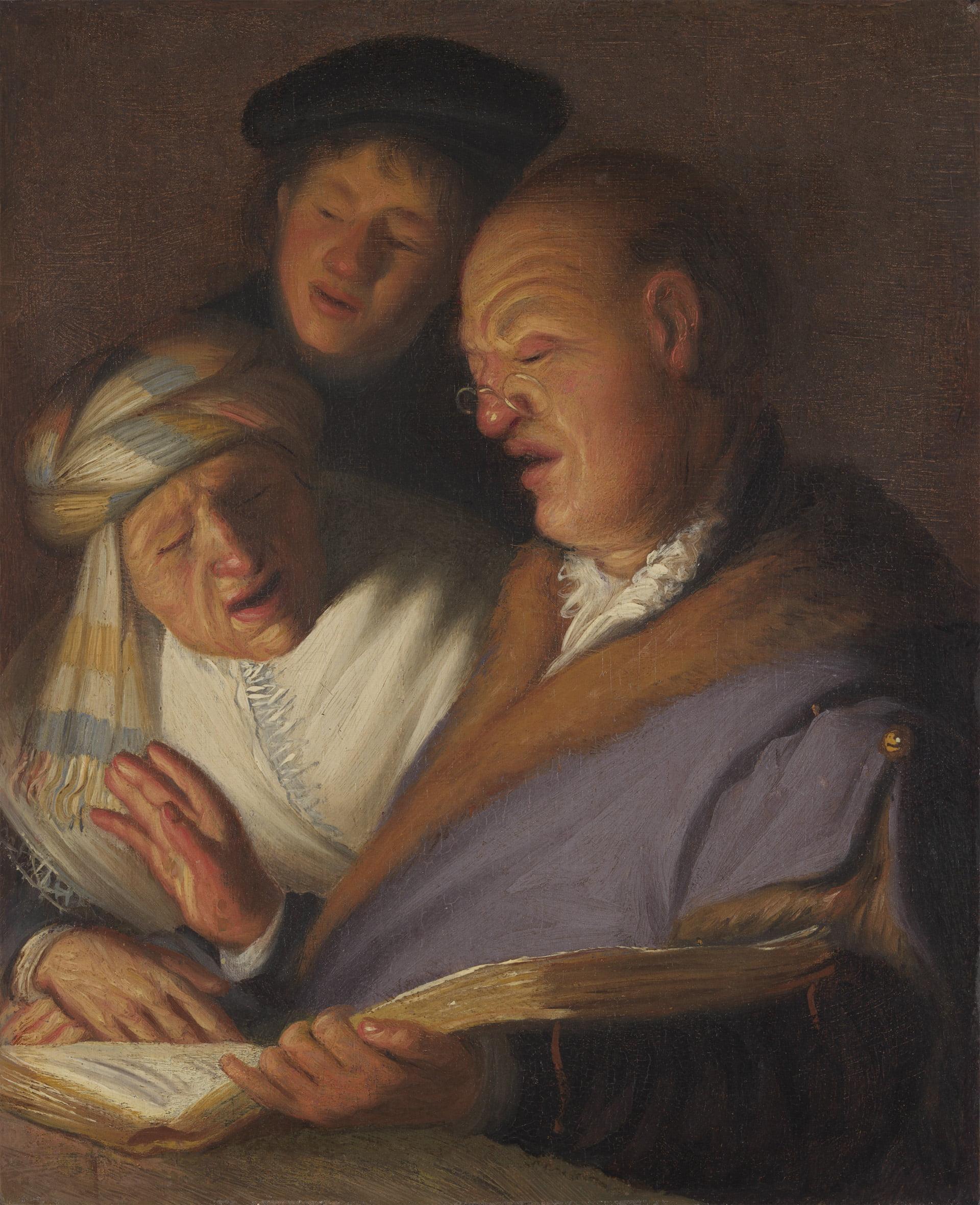 "Рембрандт ""Аллегория слуха"""