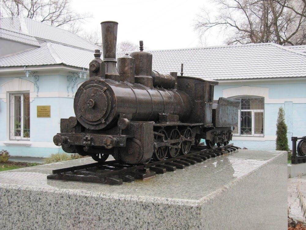 Образец первых поездов Московской окружной железной дороги