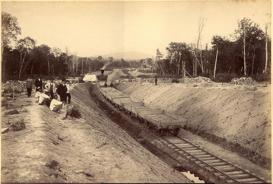 Фотография Московской окружной железной дороги