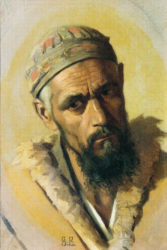 """""""Портрет цыгана"""". 1870 год. Василий Верещагин"""