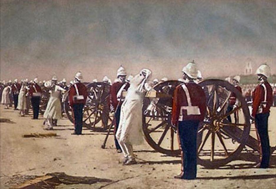 Подавление индийского восстания англичанами. Василий Верещагин