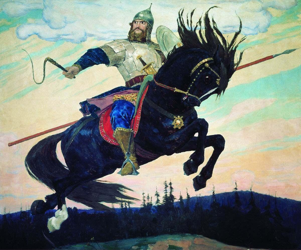 Богатырский скок. Виктор Васнецов