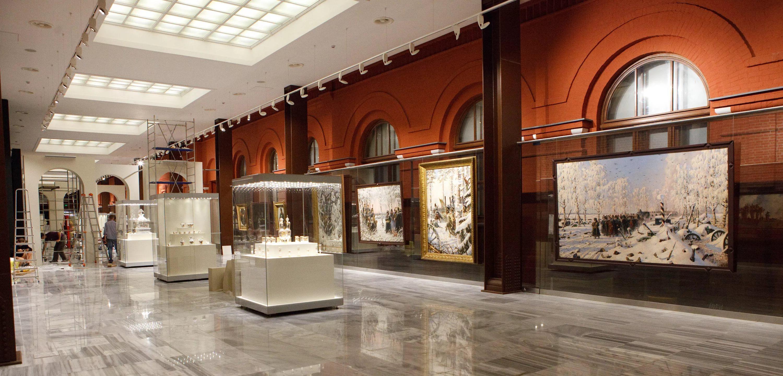 Картины Верещагина в Историческом музее Войны 1812 года