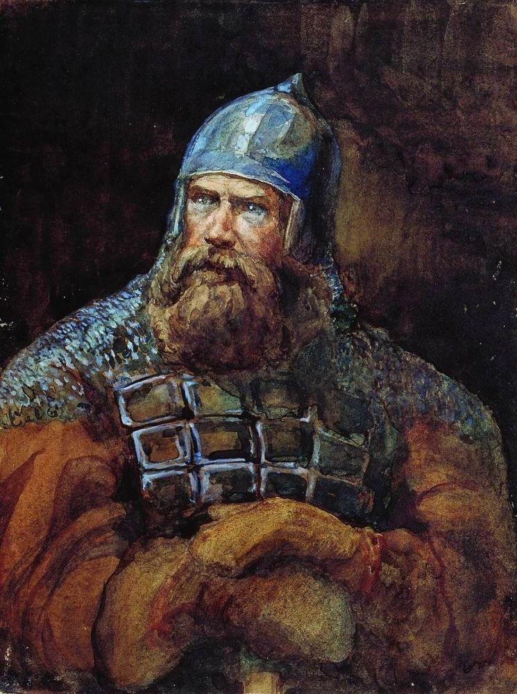 """""""Богатырь"""". Виктор Васнецов"""