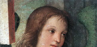Рафаэль. Голова ангела