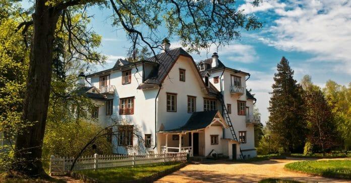 Усадьба Поленово Главный дом