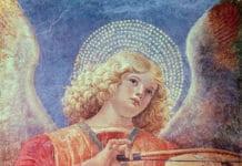 Фреска-Ангел-с-виолой-Мелоццо-да-Форли-1480