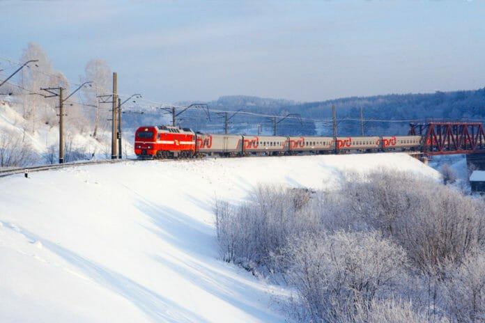 РЖД поезд