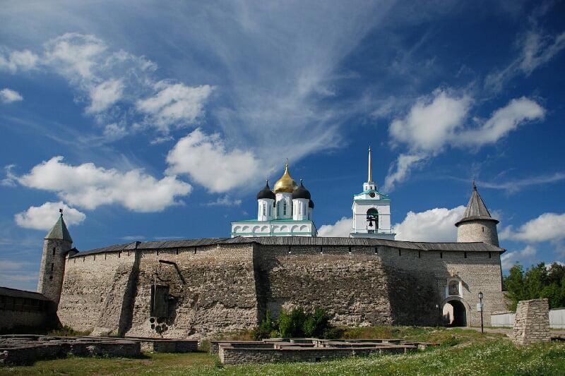 Псковский кремль. Псков ЮНЕСКО