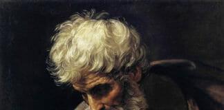 Апостол Матвей и ангел. Гвидо Рени. Пинакотека Ватикана
