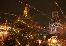 Красная площадь Путешествие в Рождество