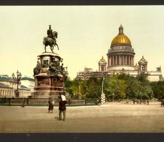 Санкт-Петербург 19 век_Исаакиевский собор