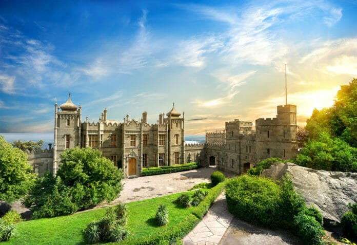 Воронцовский дворец. Крым