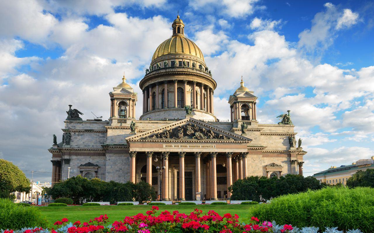 собор исаакиевский фото