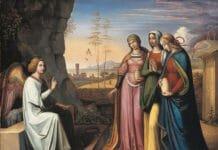 Peter von Cornelius. Три Марии у гробницы