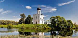 Церковь Покрова -на Нерли Поэзия Рубцова