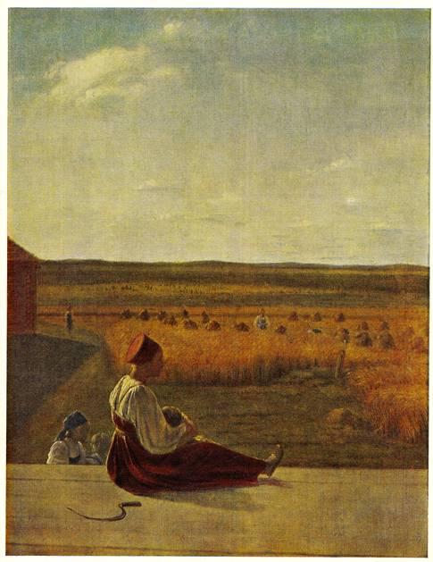 На пашне весна 1820