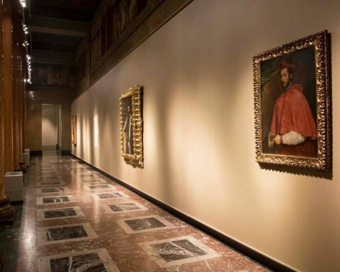 Портрет Алессандро Фарнезе на выставке