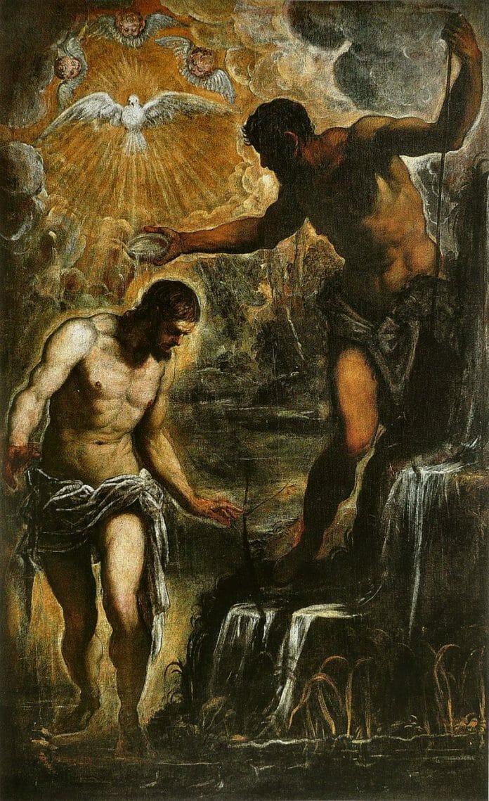 Крещение Христа Тинторетто