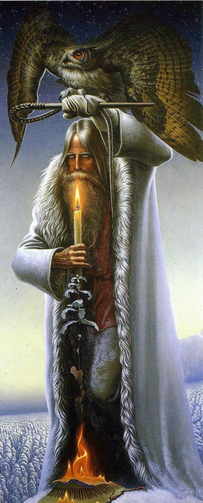 Константин Васильев. Старик и филин