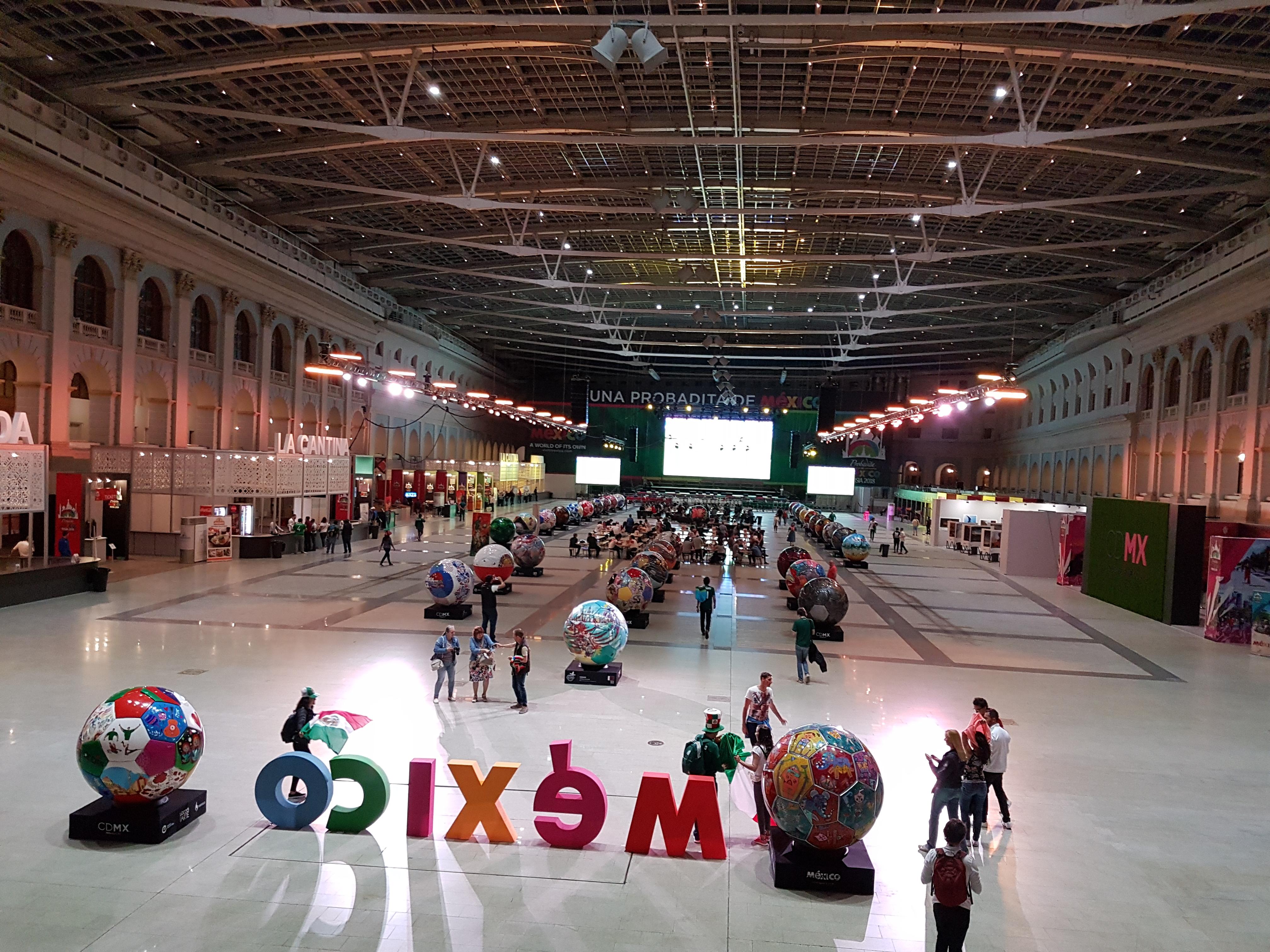 Мексиканский дом на Чемпионате мира в России расположен в Гостинном дворе