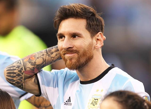 Леонель Месси самые красивые футболисты чемпионата мира
