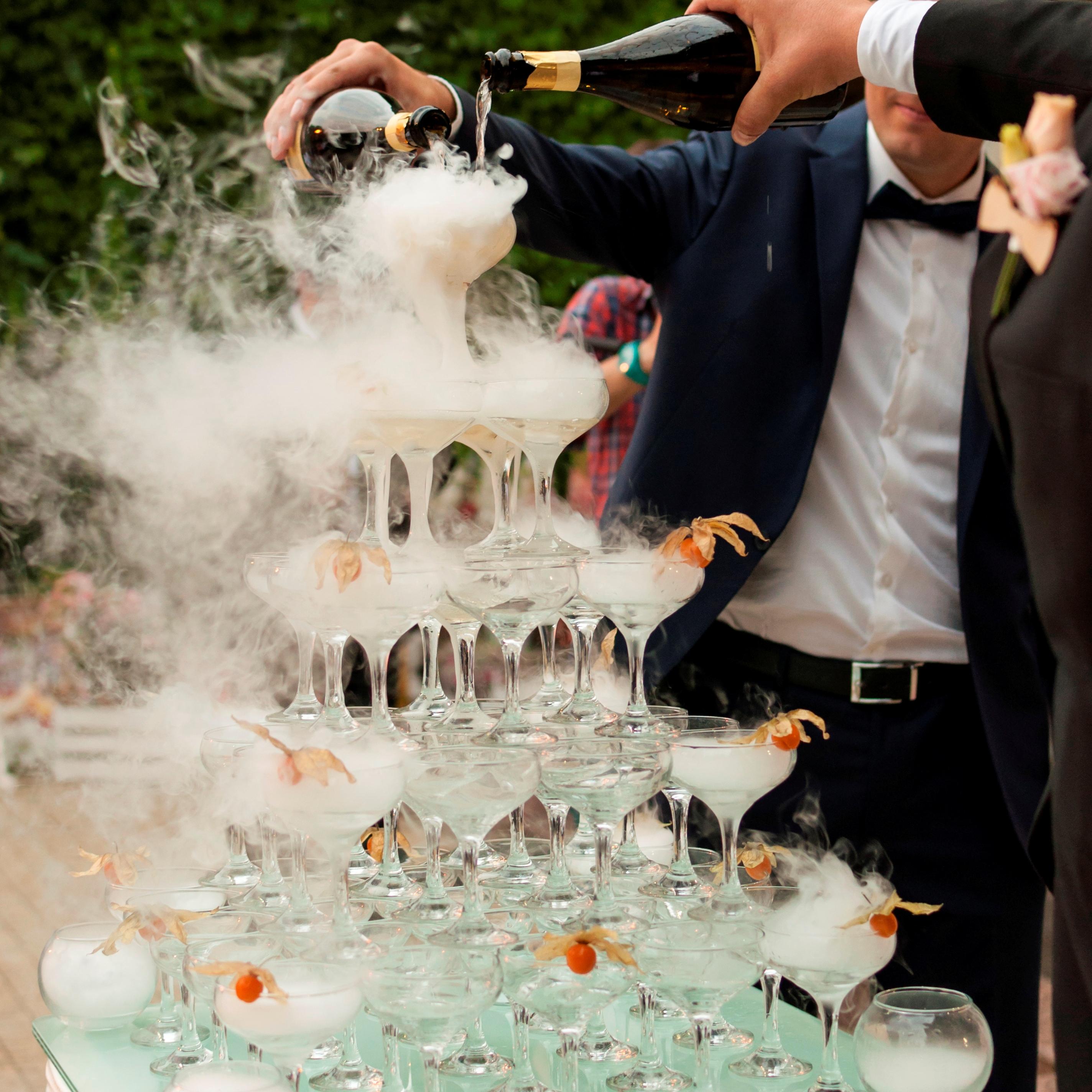 Шампанское. свадьба